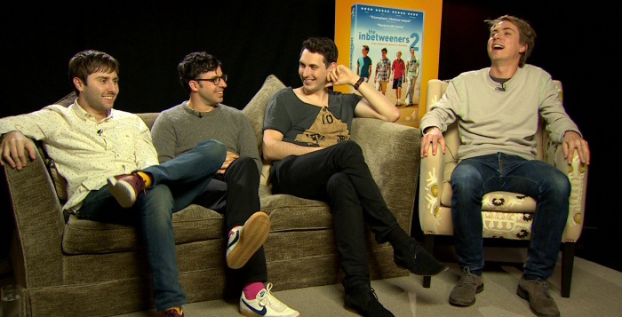 INTERVIEW | Joe Thomas, Simon Bird, James Buckley and Blake Harrison on the end of The Inbetweeners