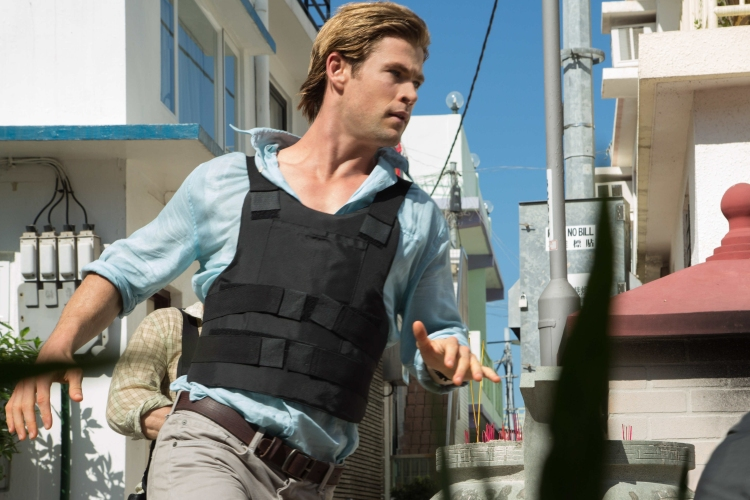 BLACKHAT - 2015 FILM STILL -CHRIS HEMSWORTH stars as Nicholas Hathaway - Photo Credit: Frank Connor / Legendary Pictures and Universal Pictures   © 2015 Legendary Pictures and Universal Pictures. ALL RIGHTS RESERVED.