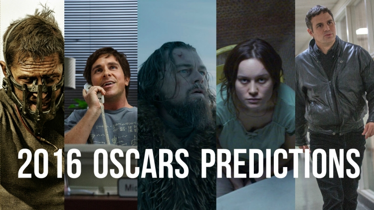 2016OscarsPredictions